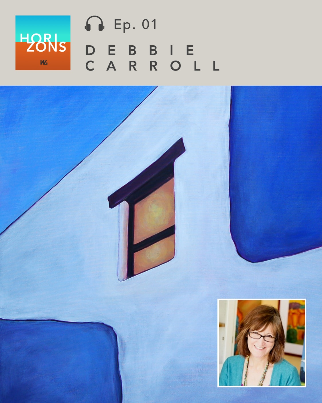 Debbie Carroll on Horizons by Western Gallery