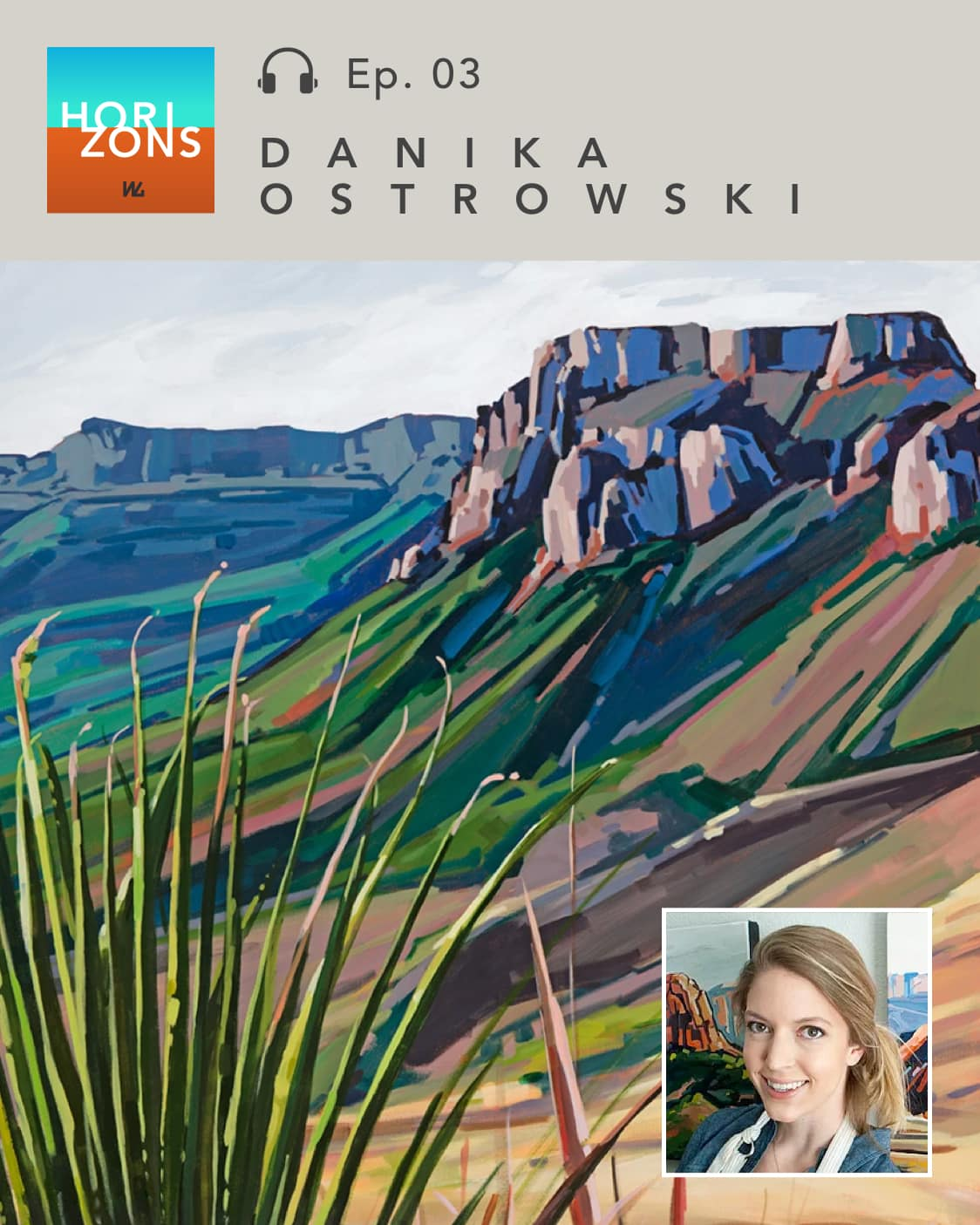 Danika Ostrowski on Horizons by Western Gallery