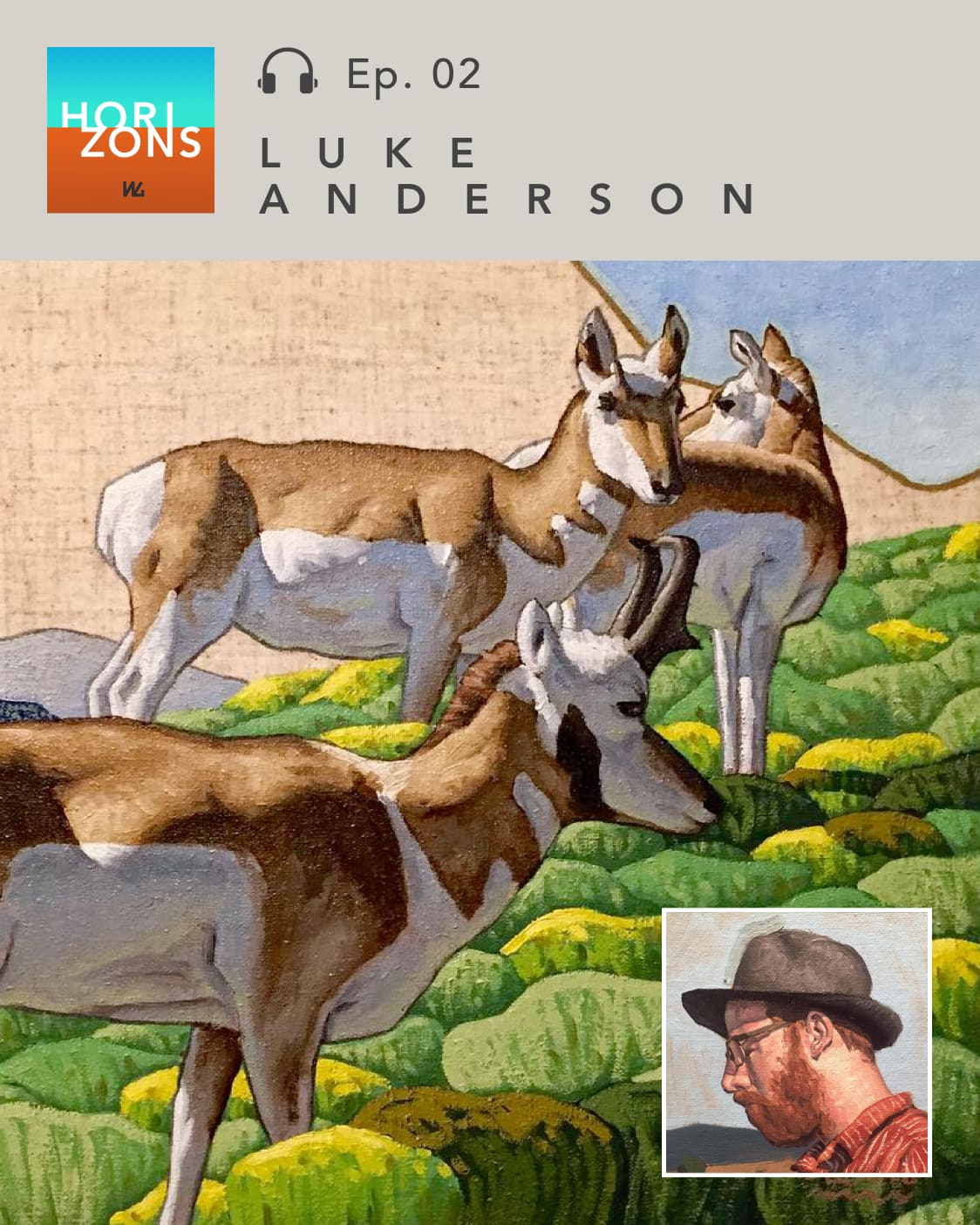 Luke Anderson on Horizons by Western Gallery