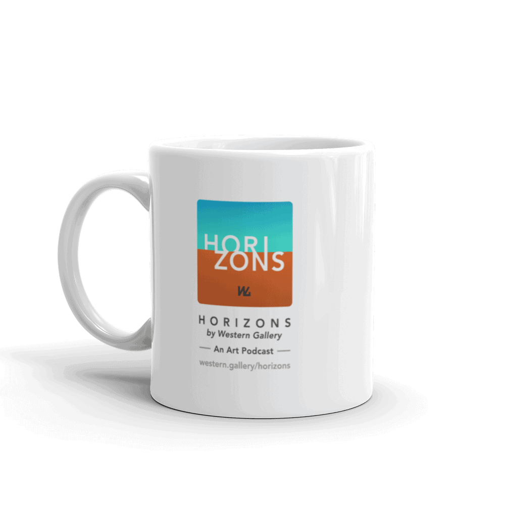 Horizons by Western Gallery Podcast Mug
