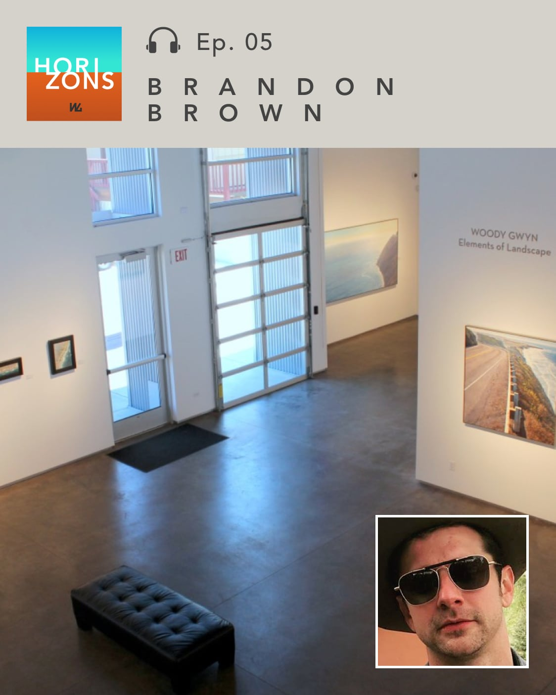 Art dealer Brandon Brown on Horizons by Western Gallery