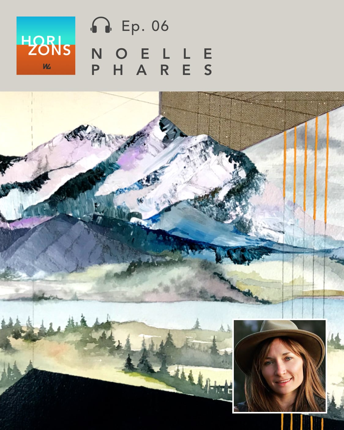 Artist Noelle Phares on Horizons by Western Gallery